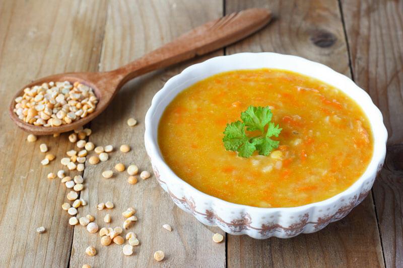Гороховый суп вегетарианский рецепт