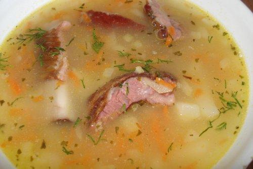 Свиные ребра суп рецепт с фото
