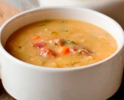 рецепт суп гороховый с копченостями рецепт с фото