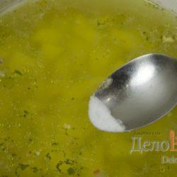 Гороховый суп и соль